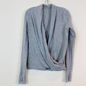 Lululemon Radiant Long Sleeve Hyper Stripe Top